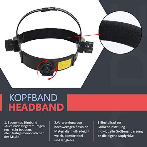 Zoom IMG-3 yorbay casco per saldatura solare