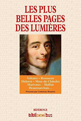 Les plus belles pages des Lumires