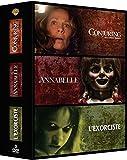 Conjuring : Les Dossiers Warren + Annabelle + L'exorciste - 3 Films D'horeur - Coffret DVD