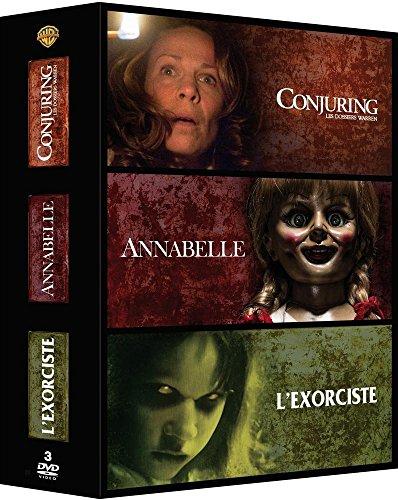 Conjuring : les dossiers Warren + Annabelle + L'exorciste