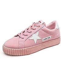 Sneakers rosse con stringhe per donna Vinstoken OwLqnCj4EQ