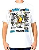 T-Shirt 10 Gründe Warum ein Bier Besser ist Als eine Frau Größe L Baumwolle Premium Qualität Siebdruck Original 1990er Jahre Funshirt