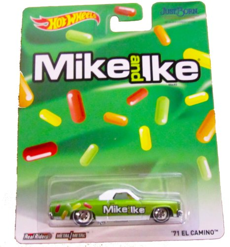 hot-wheels-real-riders-mike-and-ike-71-el-camino-by-mattel-english-manual