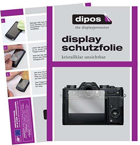 Preisvergleich Produktbild dipos I 6X Schutzfolie klar kompatibel mit Fujifilm X-T20 Folie Displayschutzfolie