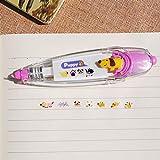 Odster - Süße Blumenaufkleber Band Stift lustige Kinder Briefpapier Chancery Dekorbänder adesivos Etikettenband Aufkleber Papier Adesivi Klebeband [Hund]