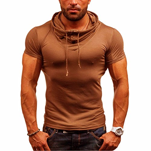 Homme T-shirt Maillot Courtes Manches Casual Sport Jogging Athletic Gym Fitness Musculation