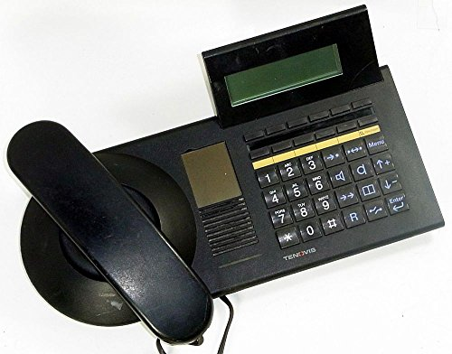 Tenovis Bosch TM13.11D Systemtelefon schwarz ID13869