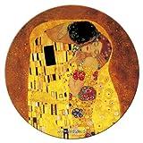 '' Fridolin specchio tascabile, 7,6cm Klimt Il Bacio in metallo