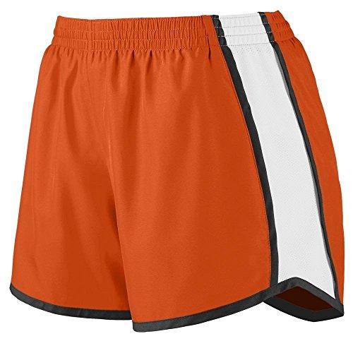 Augusta - Short de sport - Femme Multicolore - Orange/White/Black