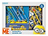 Undercover MNOH1141 - Schulset All-in-One Minions, 14-teilig, blau