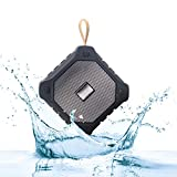 JSTBUY LABEL JBY-X006 Wireless Bluetooth Outdoor Portable Stereo Speaker with HD Audio