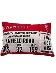 Liverpool F.C. les jours de Match Coussin oblong cushion- Dimensions : 50 cm x 30 cm avec un swing tag- Produit officiel agréé