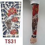 zivilverwalter hochwertiges Old School Stil temporäre Fake Rutschen auf Tattoo Arm Sleeve TS20neuen Farben