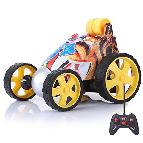 Gopark Ferngesteuertes Stunt Auto Rennwagen, RC Rennauto 360° Flip aufrechtes Fahren Kinder Spielzeugauto für Jungen und Mädchen