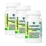SALUTOMED Allerg - Natürliche Hilfe bei Allergien, Immunsystem natürlich stärken - 3 Packungen mit 270 Tabletten gegen Allergie