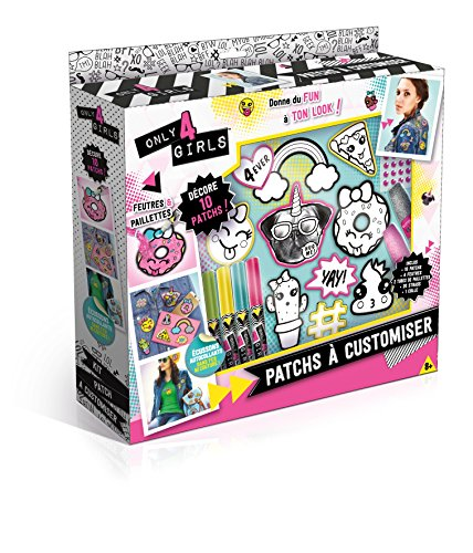 Canal Toys - CT28589 - Loisir Créatif - Only for Girls - Patch Kit