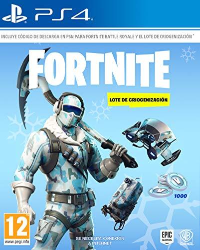 Fortnite: Lote De Criogenización La caja contiene