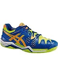 Asics – Gel-Resolution 6 Clay, Zapatillas de Tenis para hombre (Azul/Amarillo)
