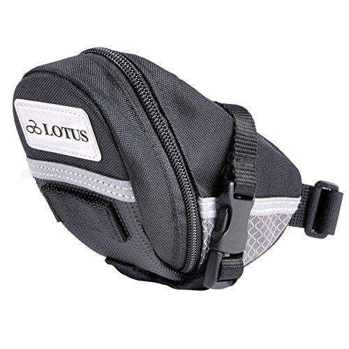 Lotus Quick Release Sattel, reflektierend, einfachen Zugang Bike Bag