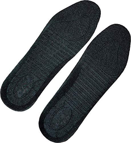 ACE 5 Paar Schuh-Einlegesohle für Herren, Damen und Kinder - Weiche Schuheinlagen gegen schmerzende Füße, Ideal für Arbeitsschuhe, 39