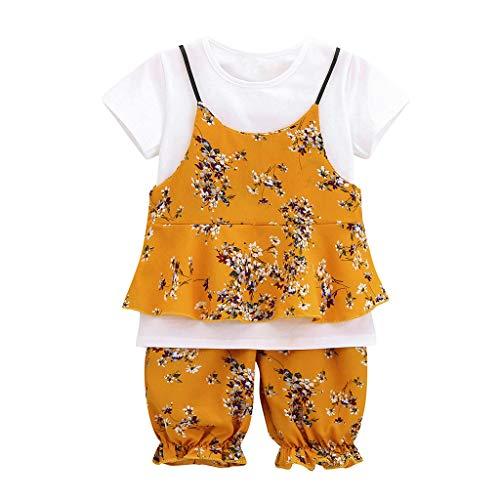 BBestseller Moda 3pcs Conjuntos ropa bebés niña