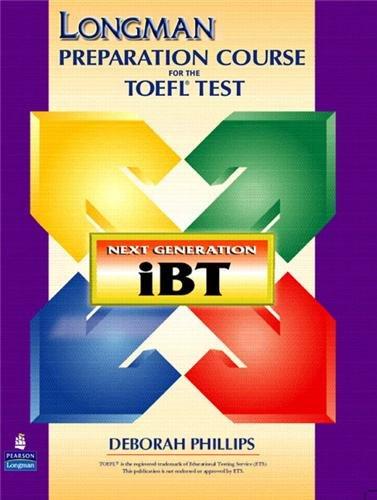 Preisvergleich Produktbild Longman Student CD-ROM for the TOEFL Test. Next Generation IBT. Für Win 98,  ME,  2000,  XP und Mac OS 9.x,  OS X. (Lernmaterialien)