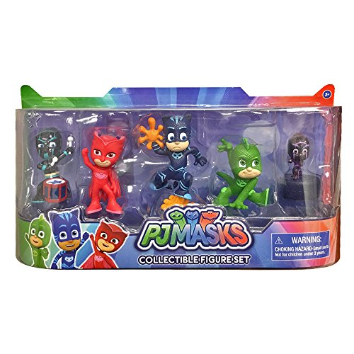 JP PJ Masks Collectible Figure (Pack of 5) Wave 3