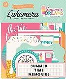 Echo Park Paper Company DR126024 Summer Dreams Ephemera
