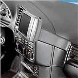 KUDA Navigations Konsole passend für Navi BMW 3er E36 90-98 + Cabr. nicht Compact Mobilia / Kunstleder schwarz