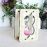 Hehuan holzrahmen Glas Sand sanduhr Sand Timer uhr wohnkultur Mädchen geburtstagstag geschenke ampulheta reloj de Arena Handwerk ornamente