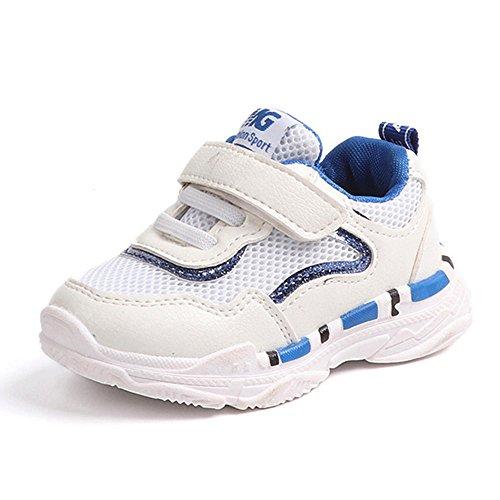 Chaussures Bébé Binggong Chaussure de Course Enfant Baskets Mode Garçon Fille Sport Runing Shoes Compétition Entraînement Mode Mixte Bébé Chaussures en Maille Sport Running Fitness Mesh Sneakers
