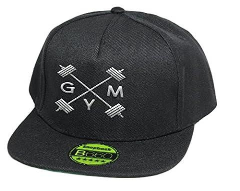 GYM , Snapback Cap, 5 Panel /