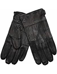 New Mens Thermal Lined Super Soft Fine Leather Warm Winter Dress Gloves In Box