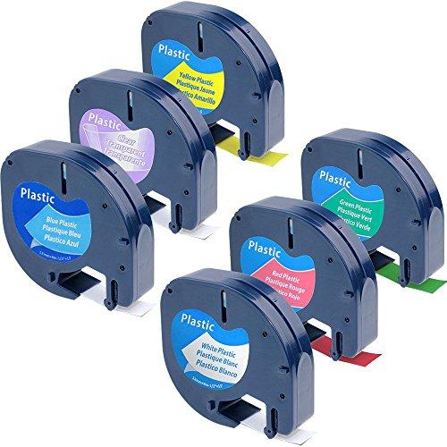 fimax-rubans-etiqueteuse-cassettes-compatible-pour-dymo-letratag-plastique-etiqueteuse-12267-91201-9