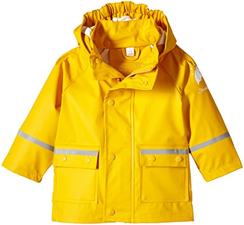 Sterntaler Baby-Jungen Regenmantel 5651405, Gelb (Safran 164), 74