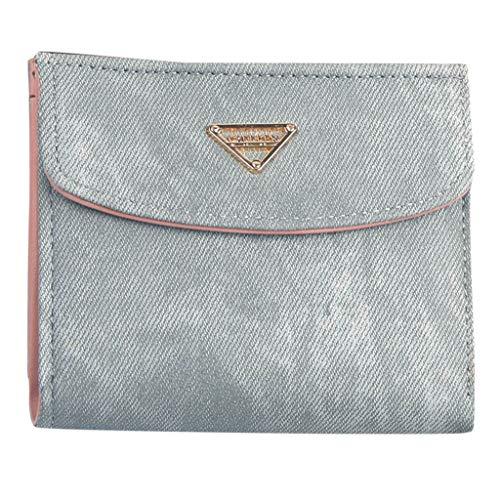 Bfmyxgs Schöne Geldbörse für Frauen GirlWallet Mini Geldbörsen Und Geldbörsen Kurze Weibliche Geldbörse Kreditkarteninhaber Handtasche Clutch Bag Handytasche Geldbörse