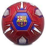 Fc Barcelona Mini Pallone Da Calcio, Colore Blu Marino/Rosso, Taglia 1