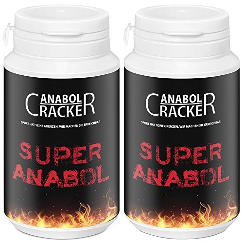 2X Super Anabol, Muskelaufbau Anabolika, je 100 Kapseln Energy, Testosteron Booster