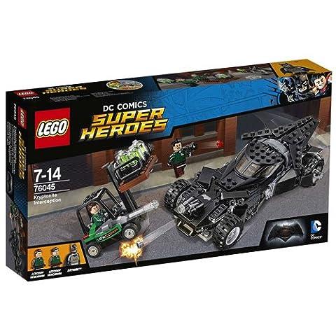 LEGO DC Super Heroes 76045 - Kryptonit-Mission im Batmobil