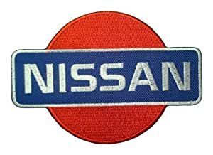 Ecusson brode patch Nissan Cars Trucks Pickup Motors Logo t-Shirts Embroidered Iron or Sew on Patch by wonderfullmoon