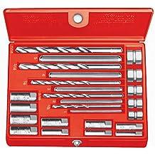 RIDGID 35585 10 Juego de extractores de tornillos, Extractor de tornillos rotos de 6,