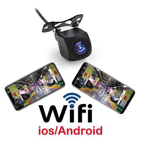 Wifi-Umkehr-Kamera Wifi-Auto-Backup-Kamera Realtime Video-Sender Mini-Größe Wasserdichte Nachtsicht Für Iphone/Ipad Und Android