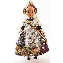 3369f1a5a2 Folk Artesanía Muñeca Sintra 42 cm Similar Nancy. Vestido típico Valenciana  o Fallera