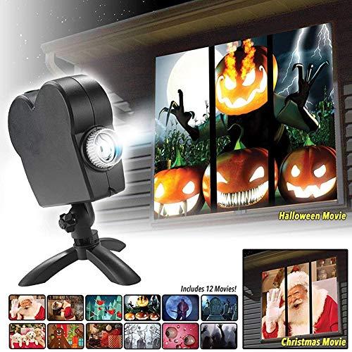 Window Wonderland Projector Regular Price-Digital Decor Ghost Projector for Halloween Christmas Xmas