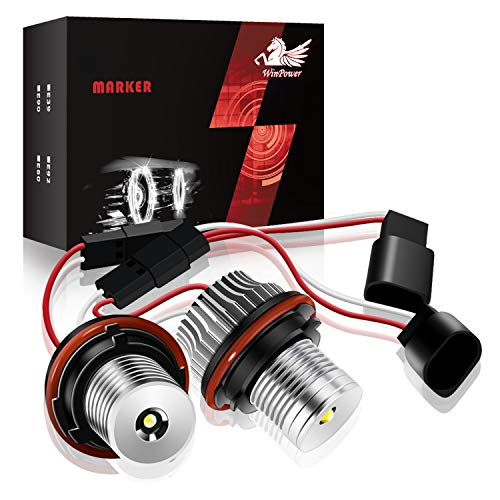 Win Power 10W LED Faros Angel Eyes coche CREE CanBus