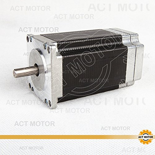 ACT Motor GmbH 1PC BLDC Motor 57BLF03 Nema23 101mm 0.6Nm 188W 3000RPM Single Flat Shaft Ø8mm Automation 3D-Printer Carver Machine Instrument CNC Machine (Dimension 3000 Power Supply)