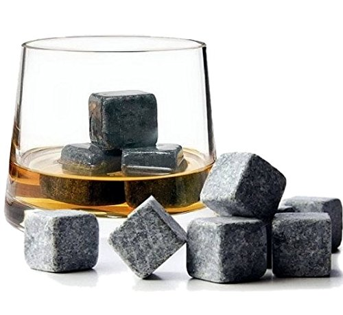 9pcs-whisky-ice-stones-drinks-cooler-cubes-whiskey-scotch-on-the-rocks-granite-grey-white