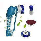 Qwhome Cordless Power Scrubber, Kabellose Automatische Mehrzweck-Power Spin Scrubber Funktionale Tragbare Handheld-Reinigungsbürste Kit