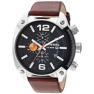 Diesel Reloj Hombre de Analogico con Correa en Piel DZ4204
