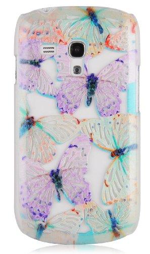 JAMMYLIZARD   3D Schmetterling Back Cover Hülle für iPhone 5 / 5S, NINA ESTRIADA NINA ESTRIADA